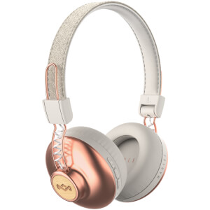 The House of Marley Positive Vibration Wireless Headphones - Copper