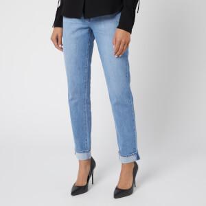 J Brand Women's Jonny Mid Rise Boyfriend Jeans - Fortuny