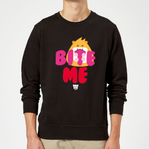 Hamsta Bite Me Sweatshirt - Black