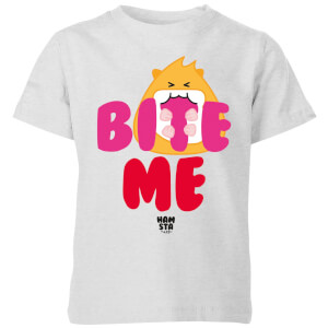 Hamsta Bite Me Kids' T-Shirt - Grey