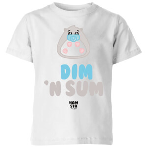 Hamsta Dim Kids' T-Shirt - White