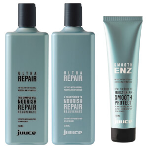 Juuce Ultra Repair & Smooth Enz Trio Pack (Worth $85.85)