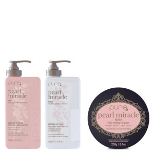 Pure Pearl Miracle & Pearl Miracle Mask Trio Pack (Worth $100.85)