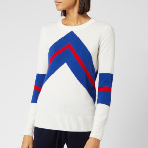 Madeleine Thompson Women's Timothy Jumper - White/Blue/Red