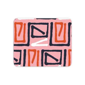 Mouse Mats Aztec Pink Pattern Mouse Mat