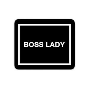 Mouse Mats Boss Lady Mouse Mat