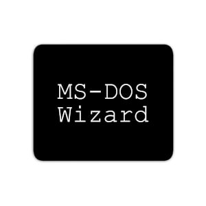 Mouse Mats MS-DOS Wizard Mouse Mat