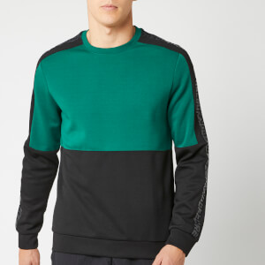 Reebok Men's MYT Crew Neck Sweatshirt - Green/Black