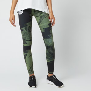 Reebok Women's Crossfit Lux Tights - Green