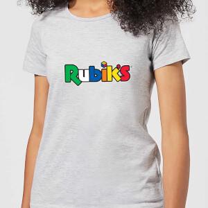 Rubik's Core Logo Women's T-Shirt - Grey