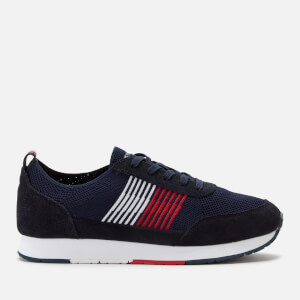Tommy Hilfiger Men's Eva Knit Runner Trainers - Midnight