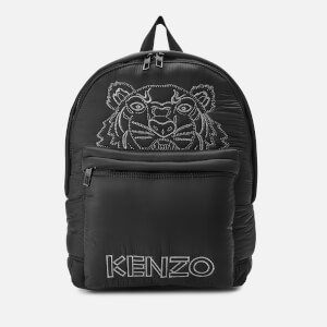 KENZO Nylon Backpack - Black