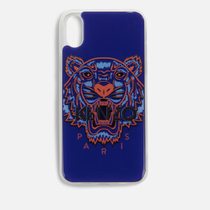 KENZO iPhone XS Case - Deep Sea Blue