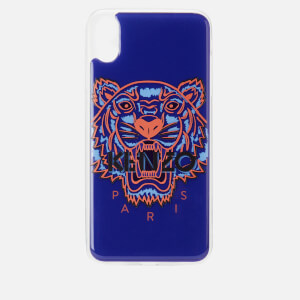 KENZO iPhone X Max Case - Deep Sea Blue