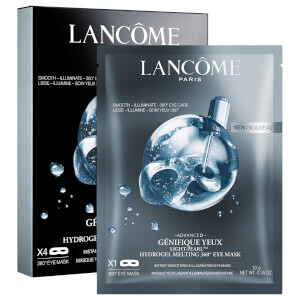 Lancôme Advanced Génifique Light Pearl 360 Sheet Eye Mask (4 Masks)