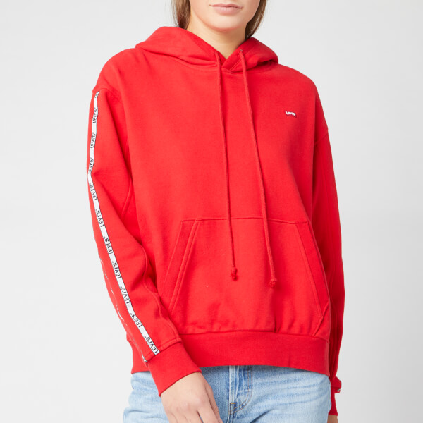 Levi's Women's Unbasic Hoodie - Brilliant Red