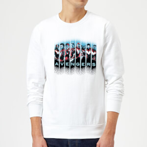 Avengers: Endgame Character Split Sweatshirt - White