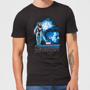 Avengers: Endgame Hawkeye Suit Men's T-Shirt - Black