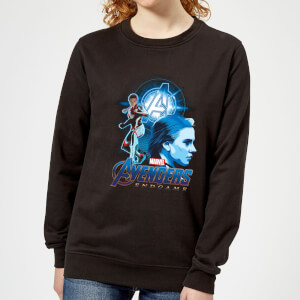 Avengers: Endgame Widow Suit Women's Sweatshirt - Black
