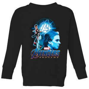 Avengers: Endgame Widow Suit Kids' Sweatshirt - Schwarz