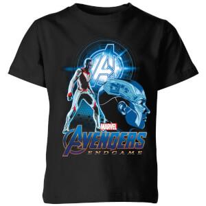 T-Shirt Avengers: Endgame Nebula Suit - Nero - Bambini