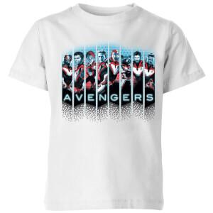 Avengers: Endgame Character Split Kids' T-Shirt - Weiß