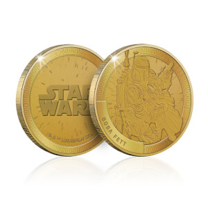 Collectible Star Wars Commemorative Coin: Boba Fett - Zavvi Exclusive (Limited to 1000)