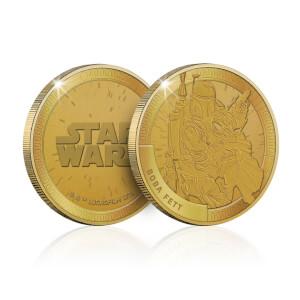 Moneta Commemorativa da collezione Star Wars: Boba Fett - Esclusiva Zavvi (1000 pezzi)