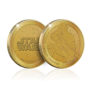 Collectable Star Wars Commemorative Coin: Scout Trooper - Zavvi Exclusive (Limited to 1000)