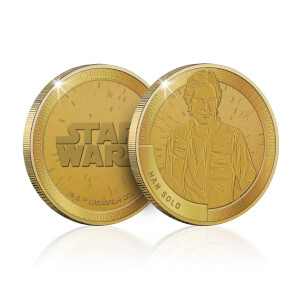 Collectible Star Wars Commemorative Coin: Han Solo - Zavvi Exclusive (Limited to 1000)