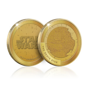 Collectible Star Wars Commemorative Coin: Death Star - Zavvi Exclusive (Limited to 1000)