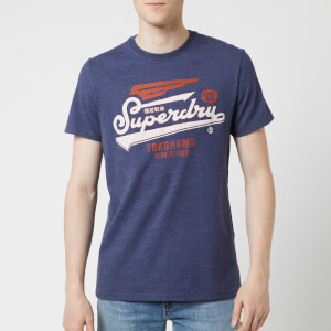 Superdry Men's High Flyers Duo T-Shirt - Princedom Blue Marl