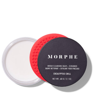 Morphe Brush Cleansing Balm and Scrubber - Eucalyptus Chill