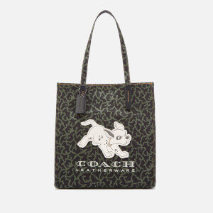 Coach 1941 Women's X Disney Dalmation Tote Bag - Black