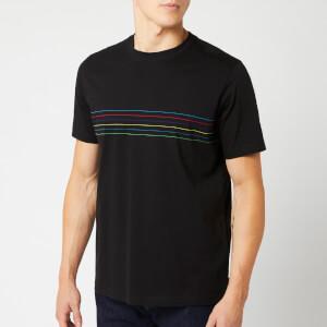 PS Paul Smith Men's Cycle Stripe T-Shirt - Black
