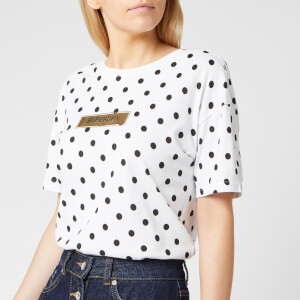 Superdry Women's Studio 395 Polka Dot Aop Portland T-Shirt - Optic
