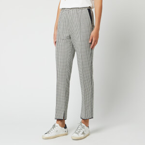 Golden Goose Deluxe Brand Women's Minori Pants - Navy White Check