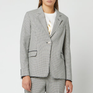 Golden Goose Deluxe Brand Women's Golden Jacket - Navy White Check