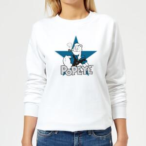 Popeye Popeye Women's Sweatshirt - White