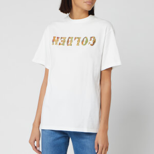 Golden Goose Deluxe Brand Women's Golden T-Shirt - White/Reversed Gold