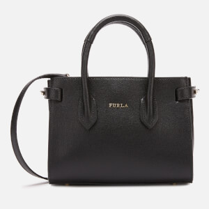 Furla Women's Pin Mini Tote Bag - Onyx