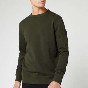 BOSS Men's Walkup Sweatshirt - Khaki