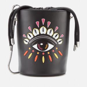 KENZO Women's Eye Mini Bucket Bag - Black
