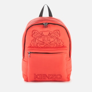 KENZO Women's Quilted Tiger Backpack - Red
