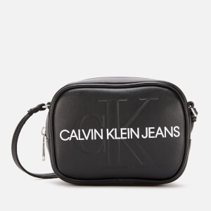 Calvin Klein Jeans Women's Monogram Camera Bag - Black