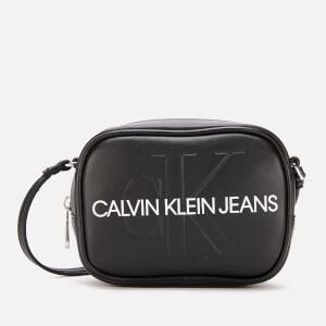 2865158b Calvin Klein Jeans Women's Monogram Camera Bag - Black