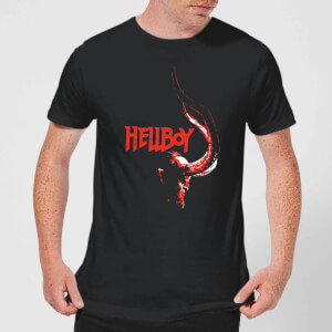 Hellboy Profile Men's T-Shirt - Black