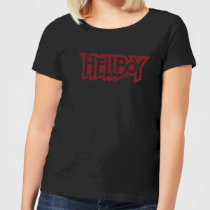 Hellboy Logo Women's T-Shirt - Black