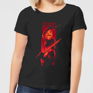 Hellboy Hail To The King Women's T-Shirt - Black