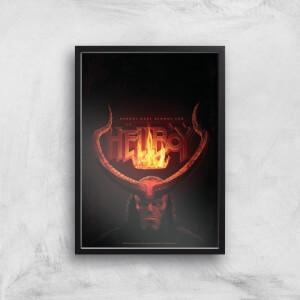 Hellboy Demons Have Demons Too Art Print